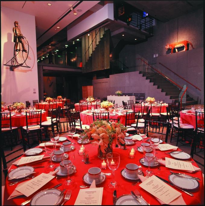 Dinner & Folk Art - American Folk Art Museum ©Rina Root Photography