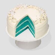 Blue velvet cake via Oprah.com