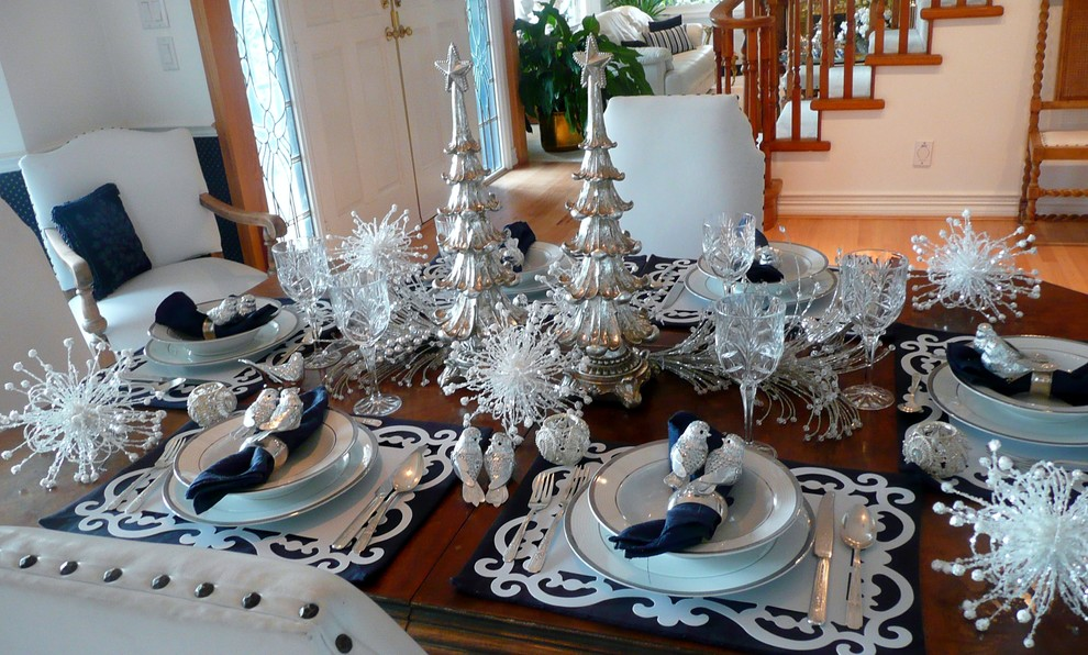 Elegant Christmas Table Settings Ideas – Home design and Decorating
